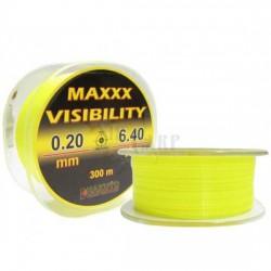 FIR MONOFILAMENT HAKUYO MAXX VISIBILITY 300M 0.25MM